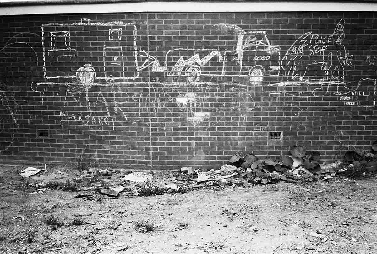10 Travellers Site, Post-Eviction, Camden Town, 1985  C-Print Photograph