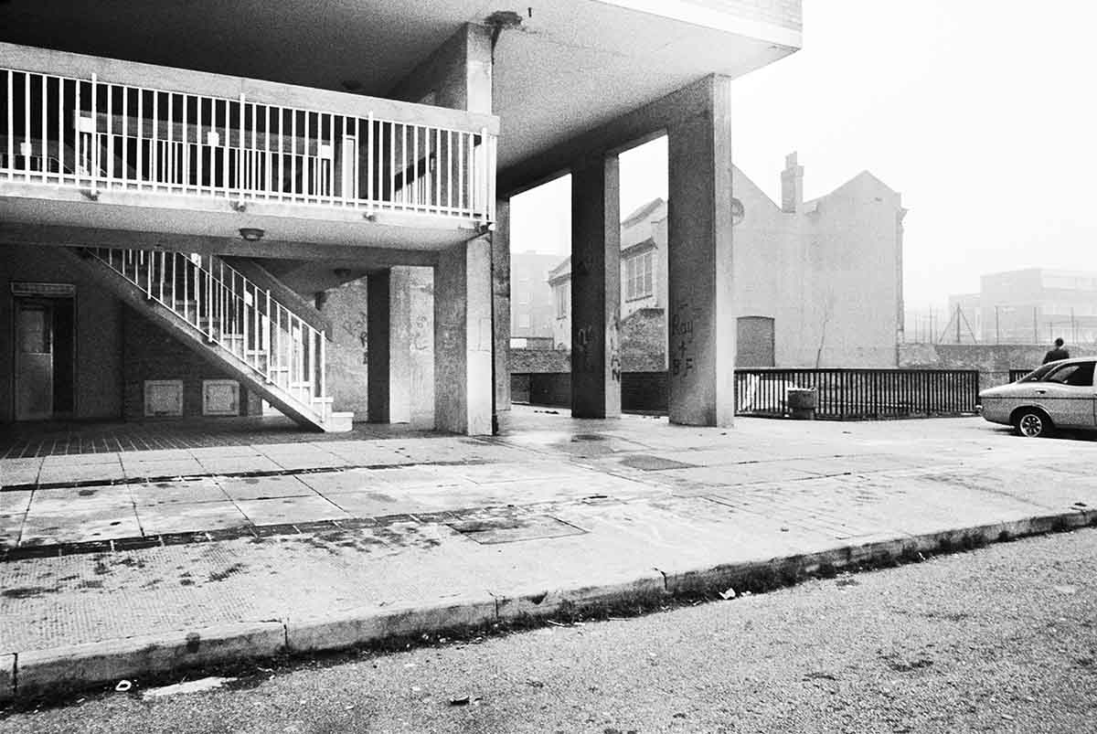 18 Dixon House, Squat (16th Floor), Latimer Road, 1980 C-Print Photograph