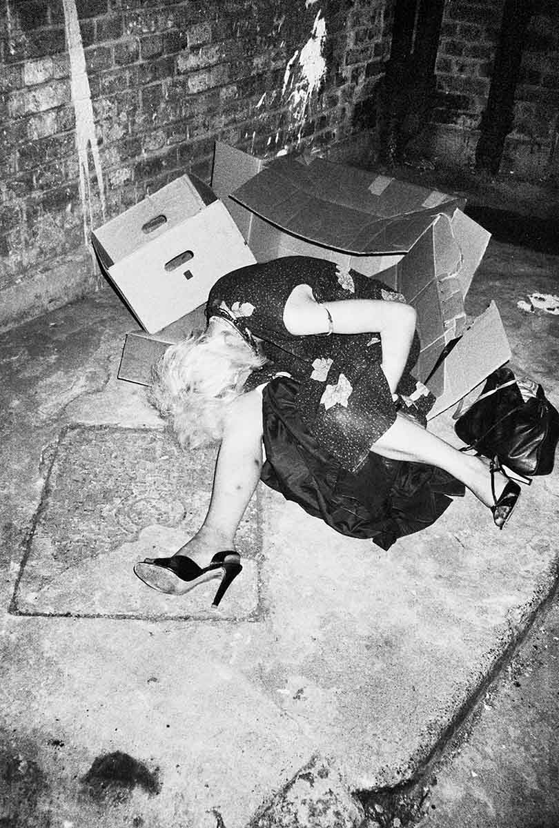 7 Diane (Two Weeks Before Her Overdose and Death), Kings Cross, circa 1983 C-Print Photograph